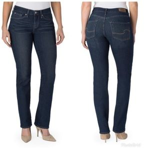 Levi's Signature Curvy Straight Jeans Size 8